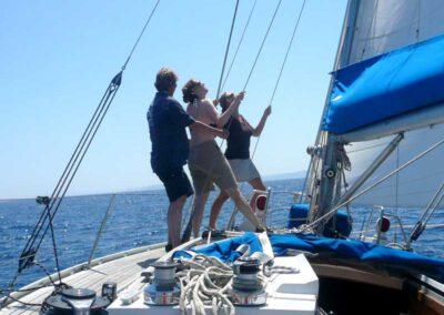Wer im Team segelt gewinnt