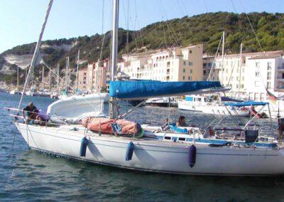 Coaching auf dem Segelboot